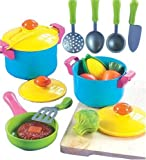 51C0fFhOJ5L. SL160  Small World Living Toys Young Chef Cookware Set