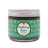 Frightening Green Organic Face Mask with French Green Clay, Rosemary, Thyme, Kelp, Fruit Extracts, and Raw Honey; Vegetarian, Certified Cruelty Free, Handcrafted in the USA (Vol. 2.4 fl. oz.)