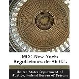 MCC New York: Regulaciones de Visitas
