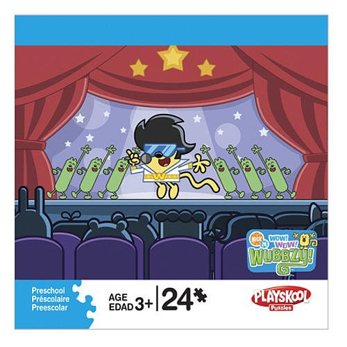 Wow! Wow! Wubbzy! As Elvis 24-Piece Puzzle
