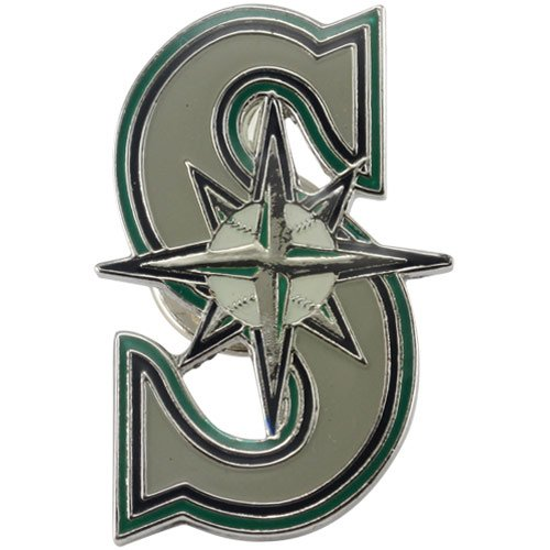 MLB Seattle Mariners Logo Pin at Amazon.com