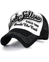 ililily Vintage Style Baseball Mesh Cap Snapback Trucker Hat