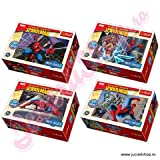 TREFL MINI 54PC JIGSAW PUZZLE SPIDERMAN- IDEAL STOCKING FILLERS
