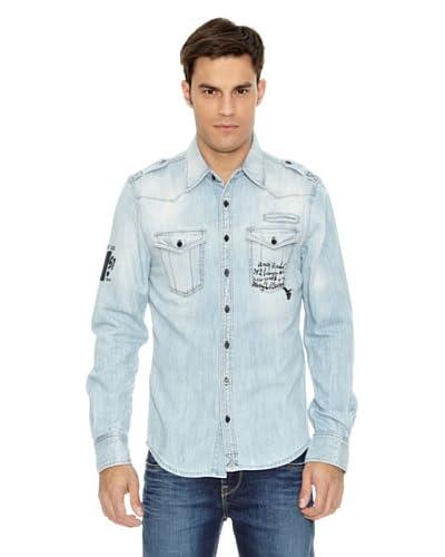 Pepe Jeans London Camisa Junk Azul