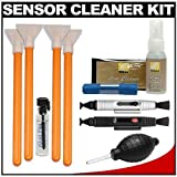 VisibleDust EZ Sensor Cleaning Kit for Size 1.6x Digital SLR Cameras with 1ml Liquid vDust Plus & 4 Vswabs + (2) Lenspen + Nikon Cleaning Accessory Kit for Nikon D40, D60, D90, D3000, D3100, D5000, D7000, D300s Digital Cameras