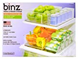 Interdesign 4 Piece Fridge and Freezer Storage Bins