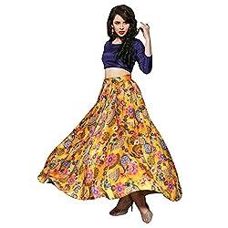 bridal collection designer yellow printed lahenga choli