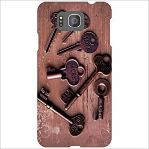 Design Worlds - Samsung Galaxy Alpha G850 Designer Back Cover Case - Multic...