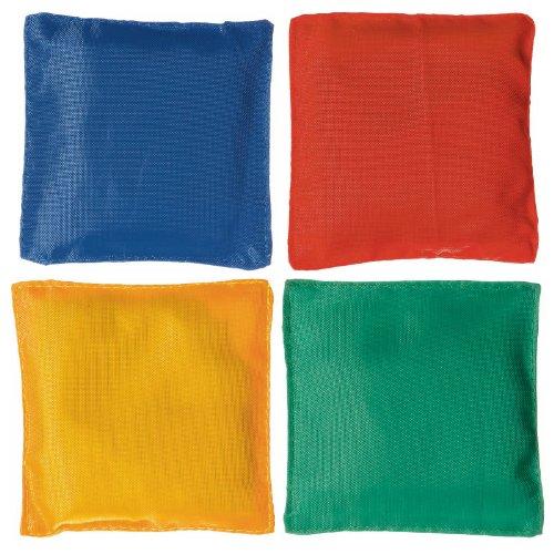Super Fun Bean Bags Birthday Party Game, Red/Yellow/Blue/Kiwi