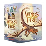 img - for Wings of Fire Boxset, Books 1-5 (Wings of Fire) book / textbook / text book