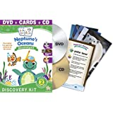 BABY EINSTEIN: NEPTUNE'S OCEANS DISCOVERY KIT - DVD, CD & DISCOVERY CARDS