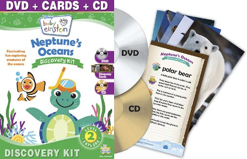 Baby Einstein: Neptune'S Oceans Discovery Kit (One-Disc Dvd + Cd + Discovery Cards) back-324372