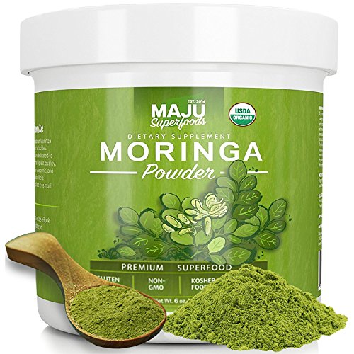 MAJUs-Organic-Moringa-Powder-NON-GMO-Guaranteed-Purest-100-Raw-Moringa-by-Maju-Superfoods