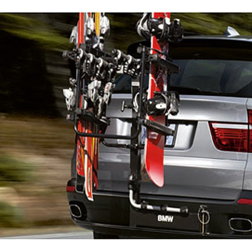 Hitch Mounts: BMW Swing Away Hitch-Mounted Ski And