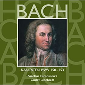 Bach, JS : Sacred Cantatas BWV Nos 150 - 153