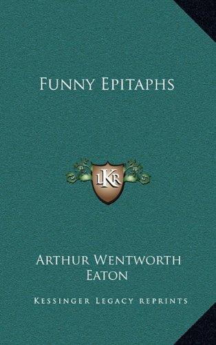 Funny Epitaphs