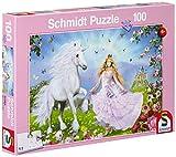 Schmidt-55565-Puzzle-La-Princesse-des-Licornes
