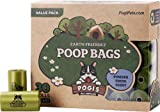 Pogis Poop Bags - 30 Rolls 450 Bags - Large, Earth-Friendly, Scented, Leak Proof Waste Bag - Perfect for Small, Medium, and Large Dogs. Top Rated and 100% Lifetime Guarantee
