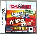Monopoly/Boggle/Yahtzee/Battle - Nint...
