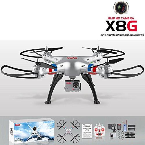 2016-Neuheit-ORIGINAL-Syma-X8G-Quadrocopter-8MP-HD-Kamera-1080-Full-HD-Drohne