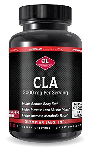 Olympian Labs Cla-conjugated Linoleic Acid, 3000 mg, 210 sotfgels (70 servings)