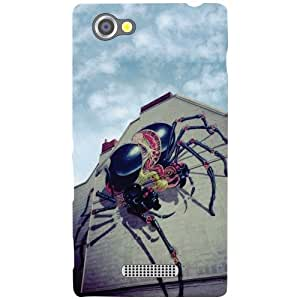 Sony Xperia M - Spider Matte Finish Phone Cover