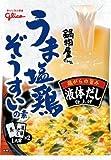 グリコ 鍋物屋さんうま塩鶏ぞうすいの素 42.5g×5個