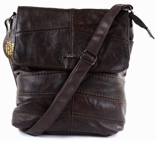 Ladies Leather Cross Body Bag / Shoulder Bag