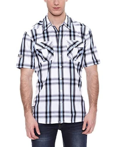 PAUL STRAGAS Camicia Uomo [Bianco/Nero]