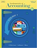 img - for Fundamentals of Accounting: Course 1 (with Student CD-ROM) book / textbook / text book