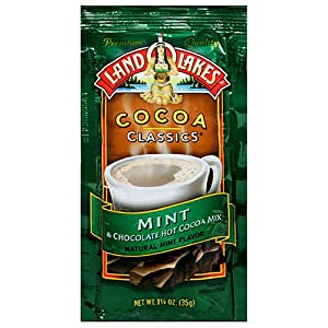 Land O Lakes Cocoa Classics, Mint & Chocolate Hot Cocoa Mix, 1.25-Ounce Packets (Pack of 72)