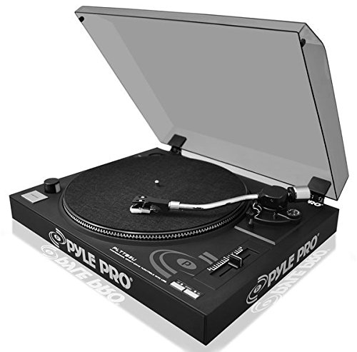Pyle PLTTB3U Belt Drive USB Turntable With Recording & Digital Software (Direct Drive Turntable Preamp compare prices)