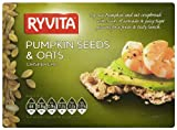 Ryvita Pumpkin Seeds and Oats Crispbread 200 G (pack Of 10)