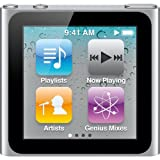 Apple iPod nano 8 GB Silver (6th Generation) NEWEST MODEL