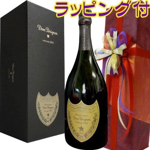 正規品オーガンジラッピング仕様  ドン・ペリニヨン(ドンペリ) 2004【化粧箱入】750ML