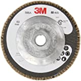 "3M Flap Disc 566A, T29, 4-1/2"" Diameter"