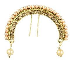 Reeti Fashions Traditional Metal Hair Pin for Women (RF17-9A-4)