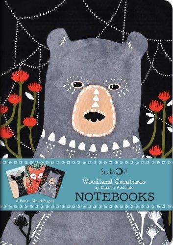 studio-oh-3-count-notebook-trios-woodland-creatures