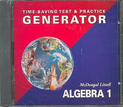 Algebra 1: Time-Saving Test & Practice Generator