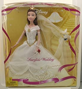 Amazon.com: Disney Princess Fairytale Wedding Doll - Belle: Toys