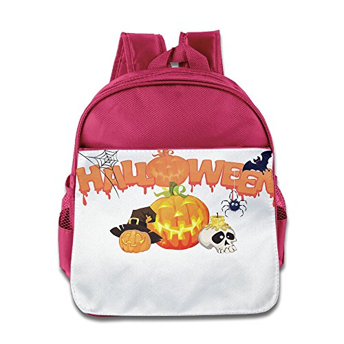 XJBD Custom Superb Halloween Children School Bagpack For 1-6 Years Old Pink (The Duff Trailer compare prices)