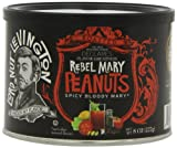Lord Nut Levington Peanuts, Rebel Mary, 8-Ounce (Pack of 6)