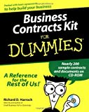 img - for Business Contracts Kit For Dummies 1st edition by Harroch, Richard D. (2000) Paperback book / textbook / text book