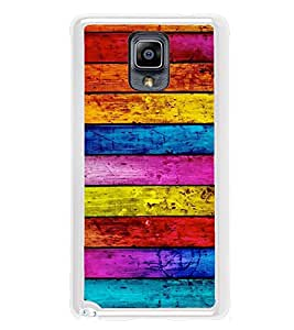 Multicolour Wooden Pattern 2D Hard Polycarbonate Designer Back Case Cover for Samsung Galaxy Note 3 :: Samsung Galaxy Note III :: Samsung Galaxy Note 3 N9002 :: Samsung Galaxy Note N9000 N9005