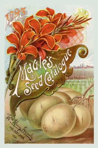 Canvas Print, Maule's Seed Catalogue, 1893 - 20x30