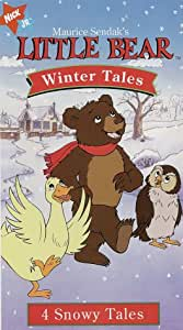 little bear winter tales vhs kristin. Black Bedroom Furniture Sets. Home Design Ideas