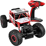 Click N Play R/C Remote Control 4WD Off Road All-Weather Rock Crawler Vehicle 2.4 GHz.