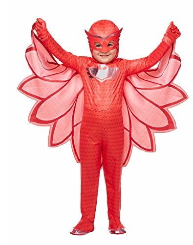 [Pj Masks Owlette Costume Toddler Size 5T-6T] (Pj Mask Costume)