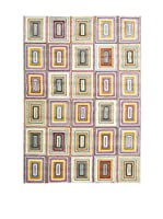 RugSense Alfombra Fashion (Beige/Multicolor)