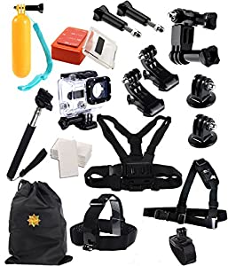 The Scuba Premium Accessories for GoPro Hero 4,3,2,1